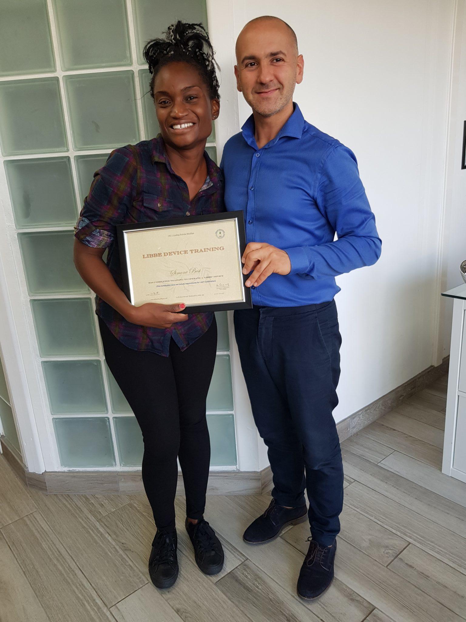 Simone Best, Colon Hydrotherapist LIBBE Device Training, Vibrant Health Spa